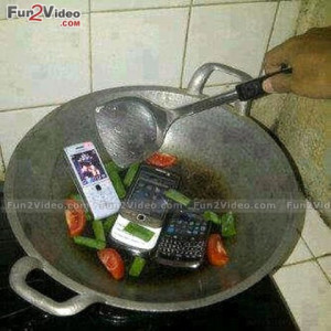 Funny Cooking Of Mobile Funny Recipe & This Funny Mobile Cooking ...