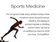 cant wait to be an athletic trainer! More