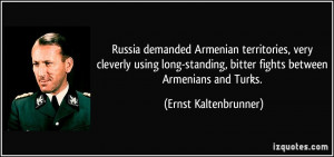 Russia demanded Armenian territories, very cleverly using long ...