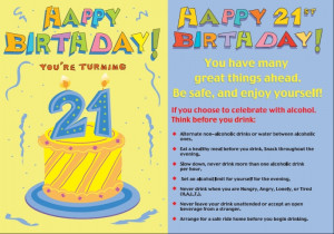 21st Birthday – Ideas for Celebrations