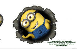 Funny despicable me minion hd