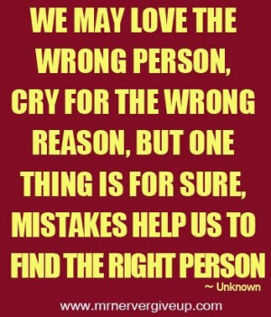 Find the right person..