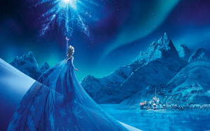 Elsa Frozen Snow Queen Palace Wallpaper HD