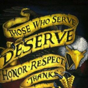 Those who serve