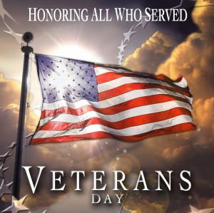 Happy Veteran's Day to all who have served and continue to serve. We ...