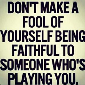 Faithful to player
