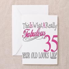 35Th Birthday Greeting Cards