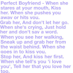 perfect boyfriend quotes tumblr overview