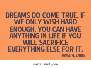 quotes about life by james m barrie make your own quote picture