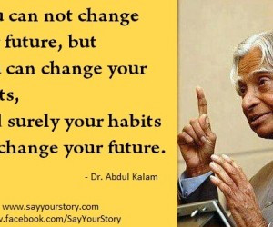 Abdul Kalam Quotes in Pictures