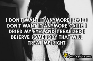 Treat Me Right Quotes