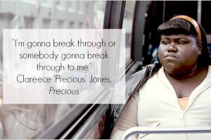 Precious Movie Quotes Precious inspirational quote