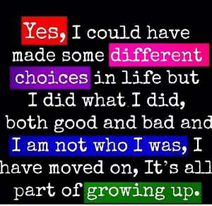 Quotes on growing up