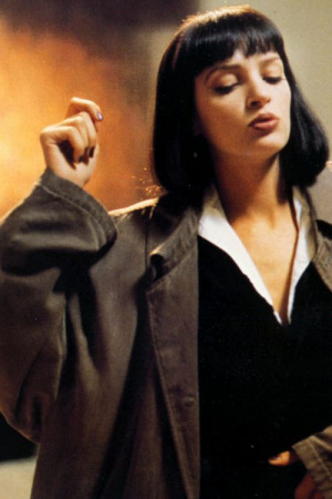 Uma Thurman Pulp Fiction Quotes