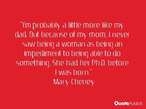 Mary Cheney