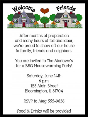 Shop our Store > Neighborhood Housewarming Party Invitations
