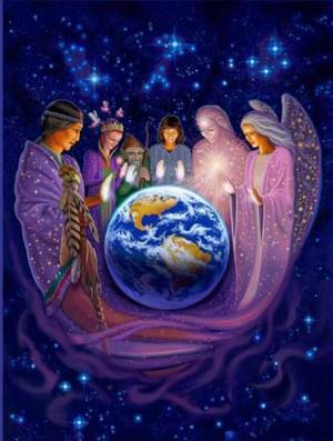 Los espiritus que forman nuestro cuadro espiritual, son nuestros guias ...