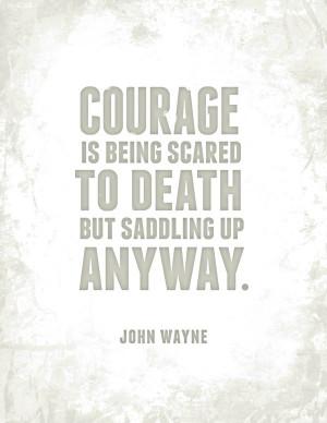 Saddle Up Anyway ~ John Wayne