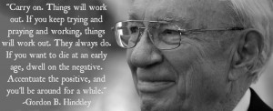 Powerful Quote by Gordon B. Hinckley