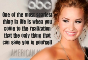demi lovato cutting quotes