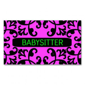 Babysitting Business Cards, 800+ Babysitting Business Card Templates