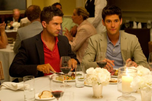 Still of Topher Grace and Ben Barnes in The Big Wedding (2013)