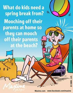 Funny sayings of Maxine