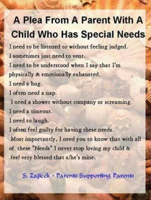 Parent of special needs children