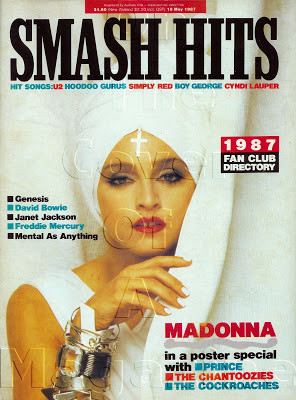 Smash Hits Australia May 18 1987 Photographed by Herb Ritts