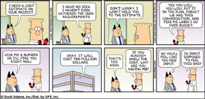 Dilbert Project Management Quotes