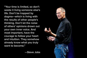 Steve Jobs Quotes On Life my favorite things in life
