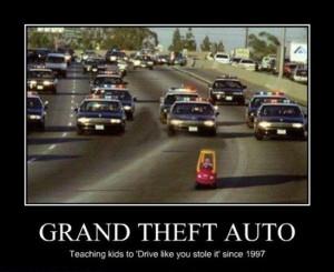 Kids Grand Theft Auto - Image