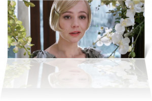 of Carey Mulligan as Daisy Buchanan from