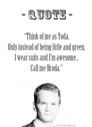 barney, himym, how i met your mother, neil patrick harris, quotes, q.o ...