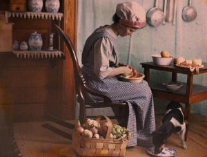 ... Vintage Colored Photography by Photographer George Eastman (10
