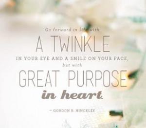 ... positive quotes - life coaching quote - Gordon B. Hinckley - image 11