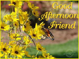 Good Afternoon My Love Quotes Good afternoon friend