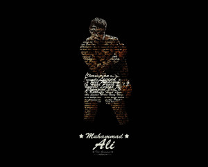 Islamic Quotes Boxing Muhammad Ali Champion Wallpaper with 1280x1024 ...