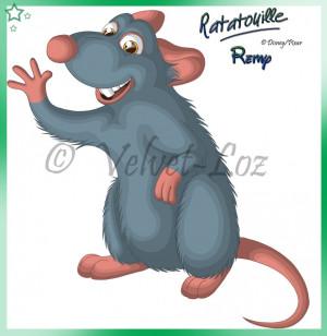 Ratatouille Cartoon Characters