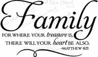 Christian Sayings And Quotes About Family ~ Religious Wall Quotes ...
