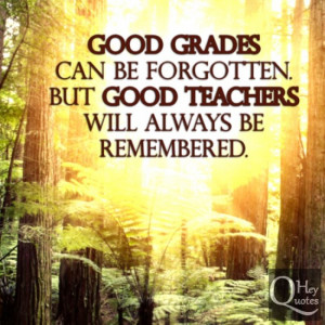 Quotes On Teachers Impact Students Quotesgram
