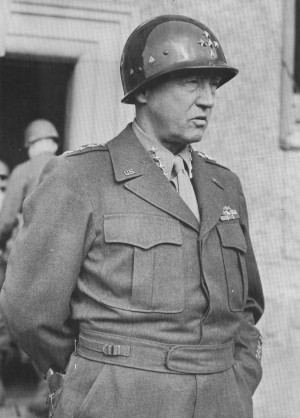 """warring, roaring comet,"""" as one reporter described George Patton ..."""
