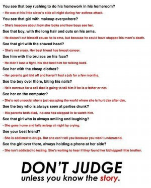 don t judge bill giyaman posted 3 years ago to their inspiring quotes ...