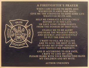 Firefighters Prayer