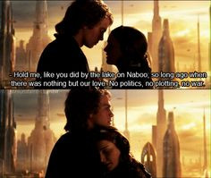 The Love Story of Padme & Anakin