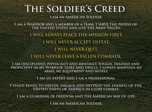 Training and Equipping Soldiers to Serve as Warriors and Growing ...