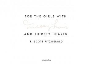 LITERARY LOVE // F. SCOTT FITZGERALD