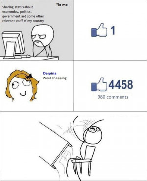 curse you facebook funny quotes funny facts funny pictures