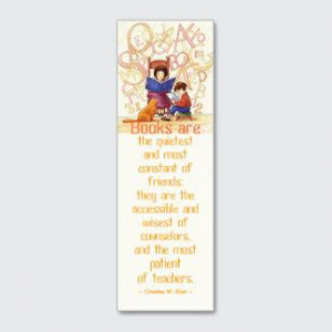 Business Cards » Inspirational Reading Quote Bookmark Template