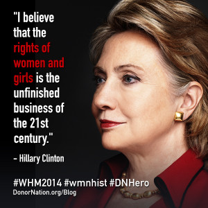 Hillary Clinton Quote rights of women